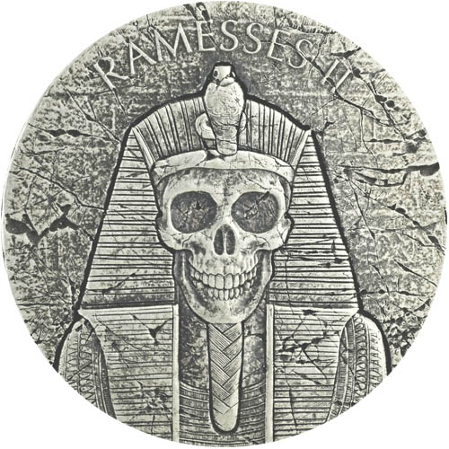 Ramesses Afterlife Silver Coin
