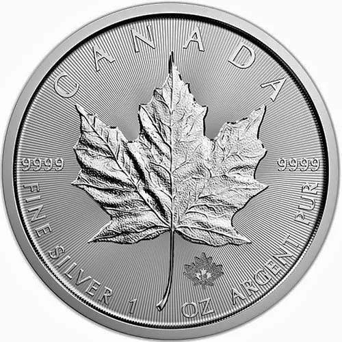 Canadian Silver Maple Leaf Coin For